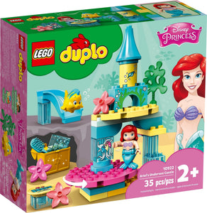 Lego Duplo 10922 Disney Ariel's Undersea Castle Building Toy for Kids