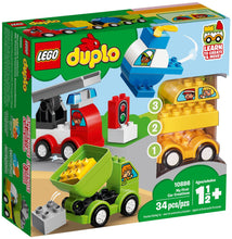 Load image into Gallery viewer, Lego Duplo My First Car Creations 10886 Building Blocks