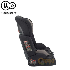 Kinderkraft Comfort Up Combination Booster Car Seat With 5 Points Harness and Adjustable Headrest