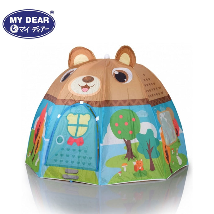My Dear Bear Design Ball Tent 33008 With 100 Balls Included