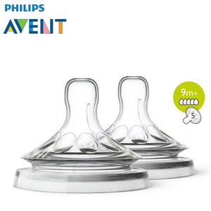 Philips Avent Natural Range Baby Bottle Teats / Nipples (2 Units Per Pack)