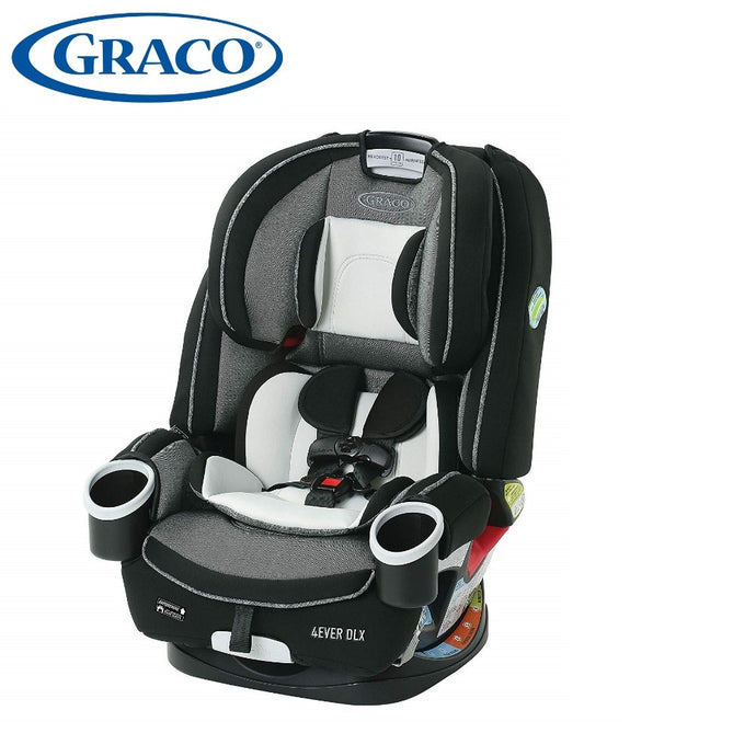 Graco 4Ever DLX 4 in 1 Infant to Toddler Car Seat, with 10 Years of Use, Fairmont