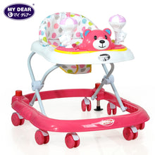 Load image into Gallery viewer, My Dear 20130 Baby Walker With Adjustable Heights, Stopper and Music Tray