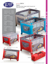 Load image into Gallery viewer, My Dear Baby Playpen 26016 Suitable For Baby From 0m+