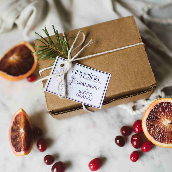 Brighten Up Cranberry Blood Orange Gift Set