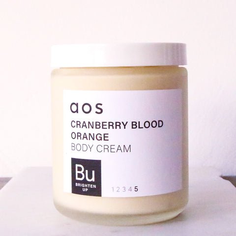 Brighten Up Cranberry & Blood Orange Body Cream