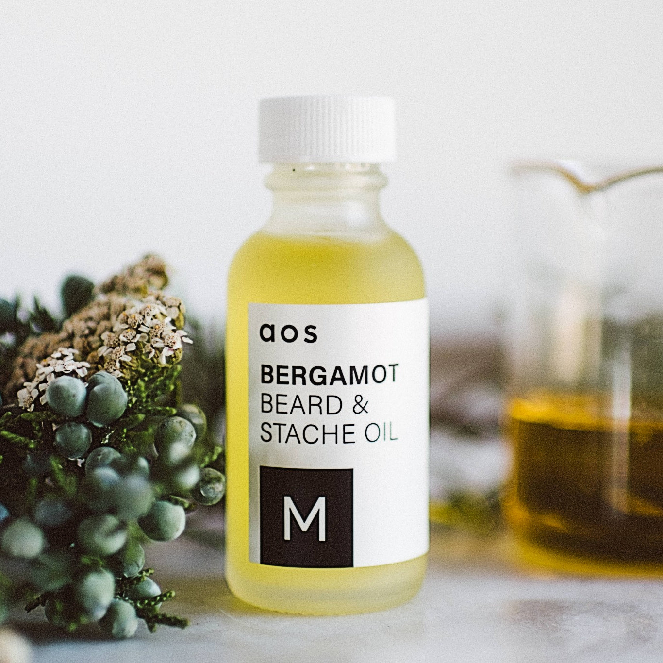 Bergamot Beard & Stache Oil