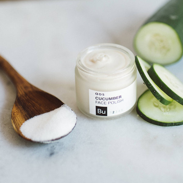 Brighten Up Cucumber Face Polish