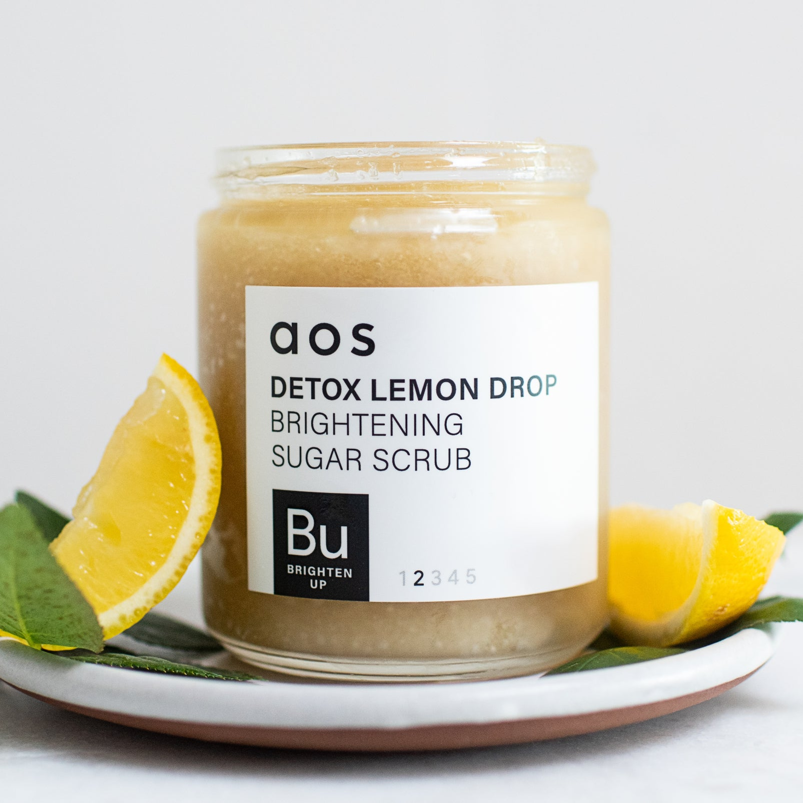 Detox Lemon Drop Brightening Sugar Scrub