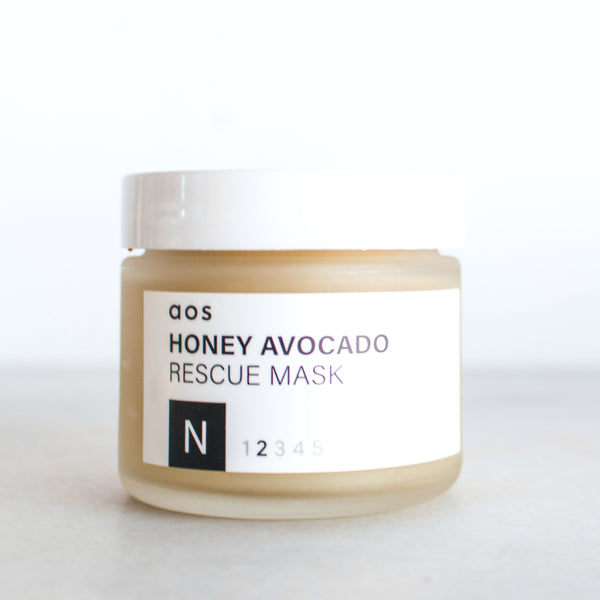 Honey Avocado Rescue Mask