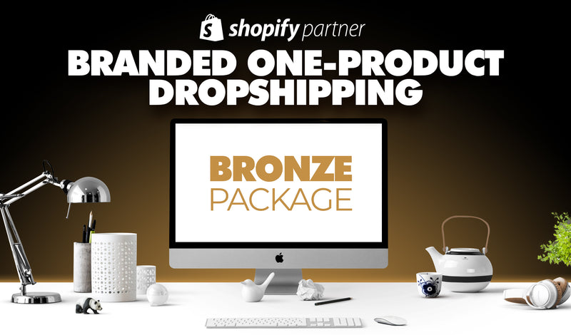 BRONZE-Paket | Branded One-Product Onlineshop