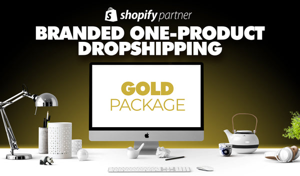 GOLD-Paket | Branded One-Product Onlineshop
