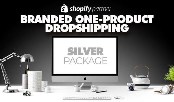 SILBER-Paket | Branded One-Product Onlineshop