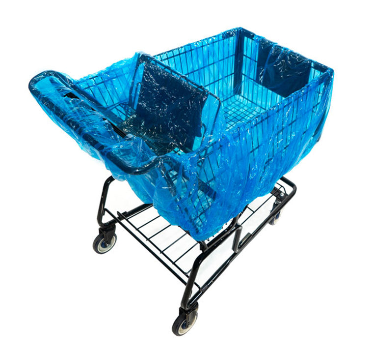 Shopping trolley liner