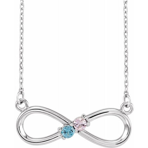 Family Infinity Necklace