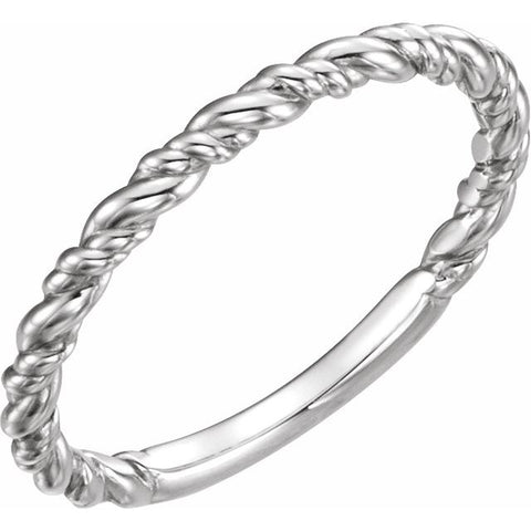 Rope Stackable Ring