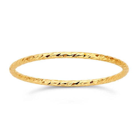 Sparkle Stackable Ring - 14K Yellow Gold Filled
