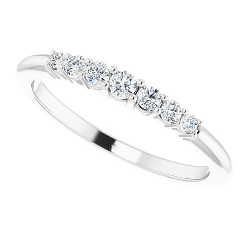 Diamond Stackable Ring 1/6 ctw