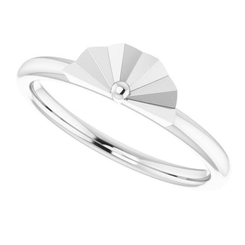 Stackable Starburst Ring - Henry D Jewelry