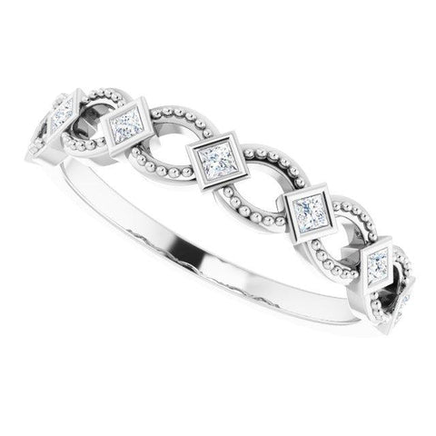 Diamond Stackable Ring 1/6 ctw - Henry D Jewelry