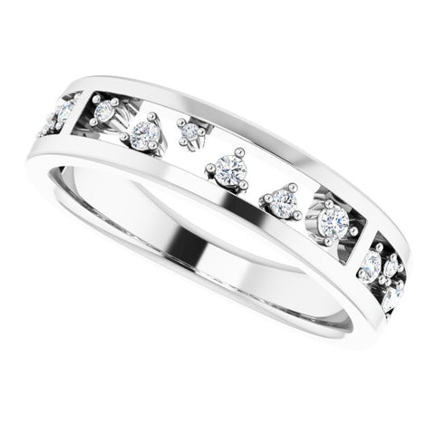Diamond Stackable Ring 1/5 ctw