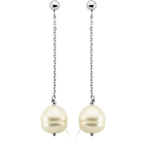 Freshwater Pearl Dangle Earring - Henry D Jewelry