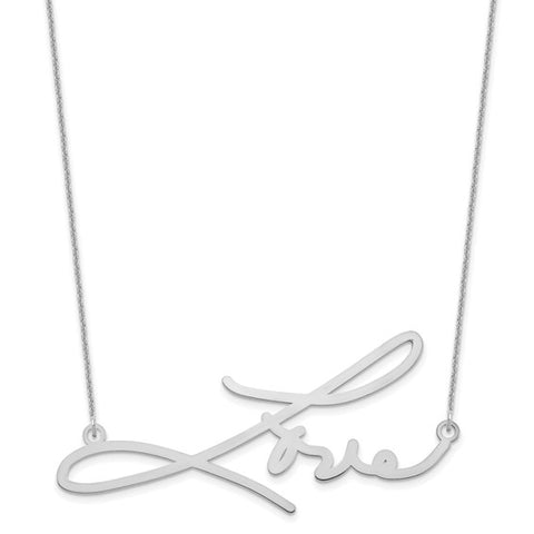 Large Signature Necklace