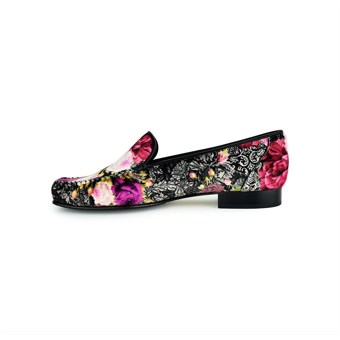 1700E - Neo Moccasin Flower Print