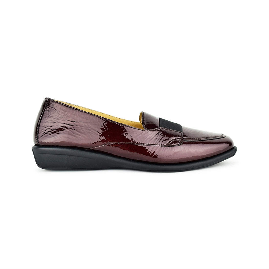 ALECTO - Relax Closed Shoe Burgandy