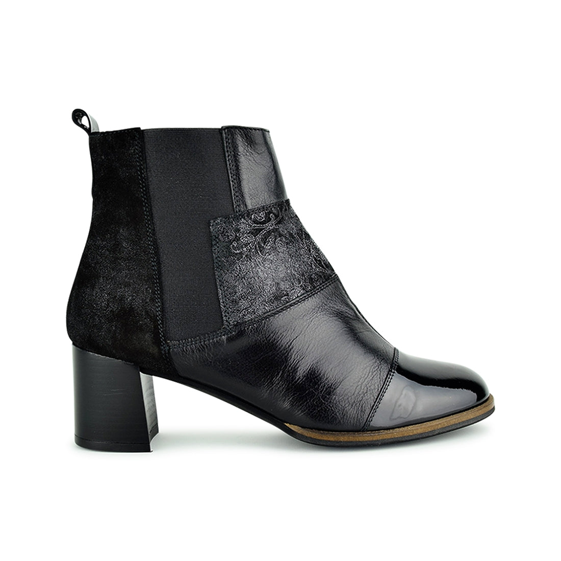 ALESS - Hispanitas Ankle Boots Black Multi