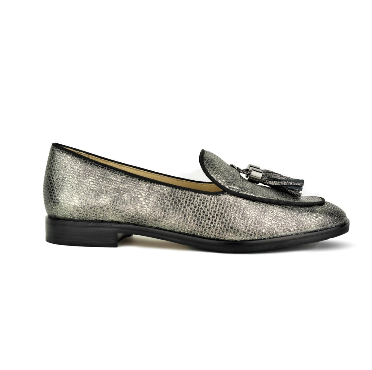 AMBRO - Wirth Loafer Pewter Print