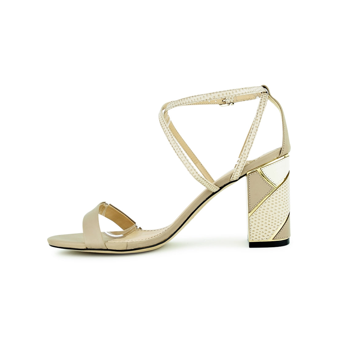 ANGELO - Piazza Grande Sandal Taupe Print