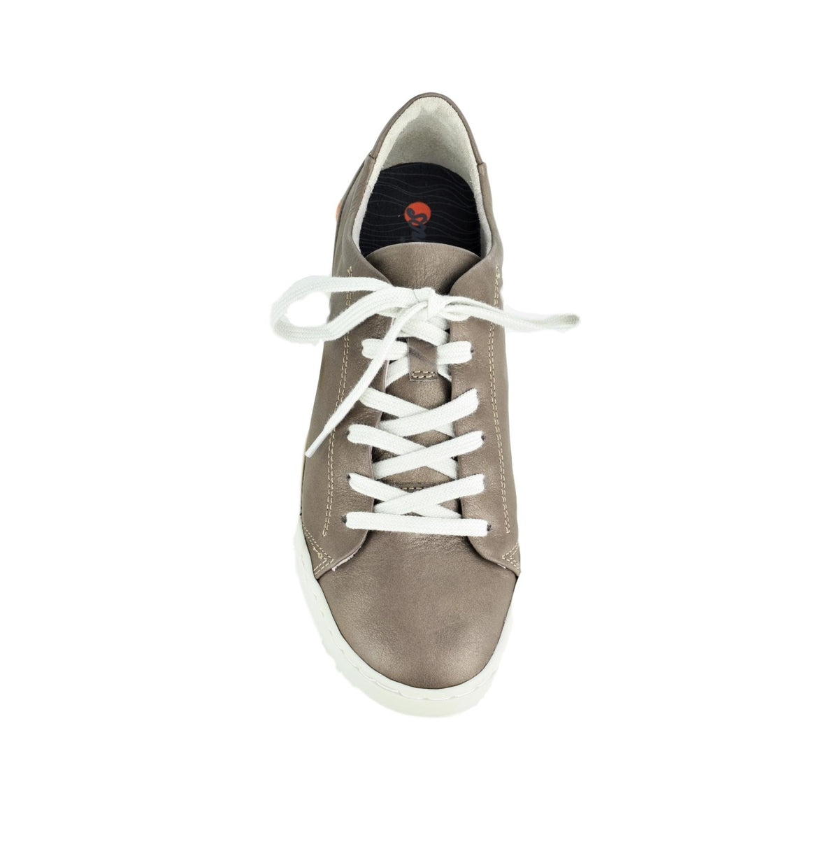 CARMA - Softinos Lace Up Grey