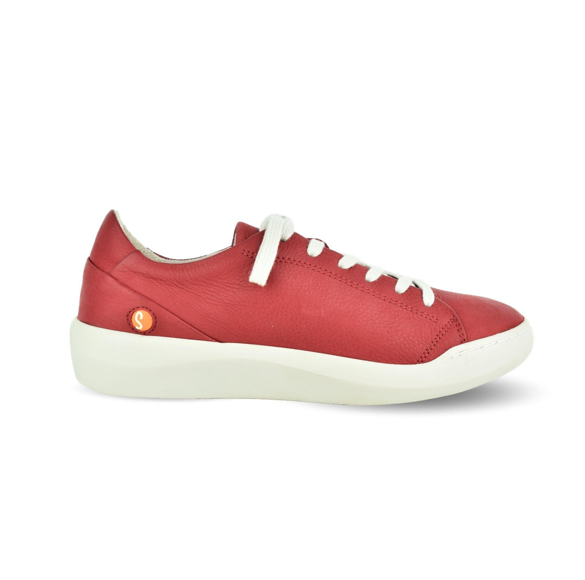 CARMA - Softinos Lace Up Red