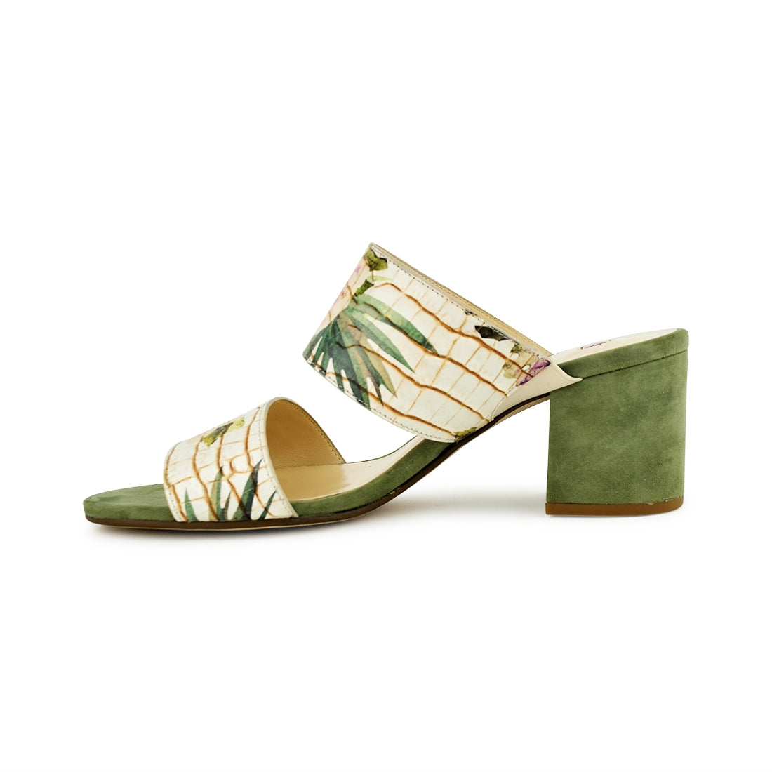 BLOOM - Hogl Sandal Green Print