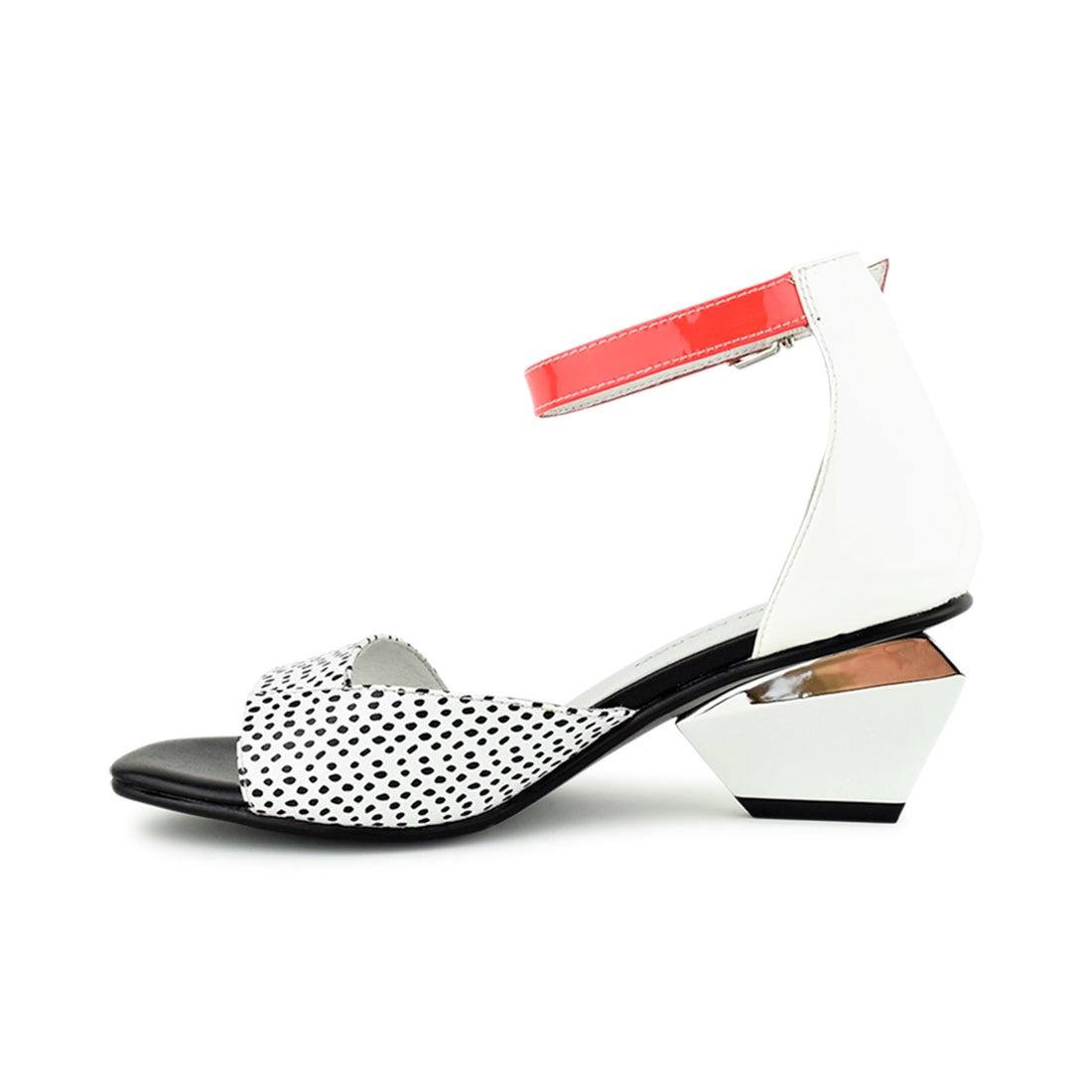 BOSCO - Martini Marco Sandal White Multi