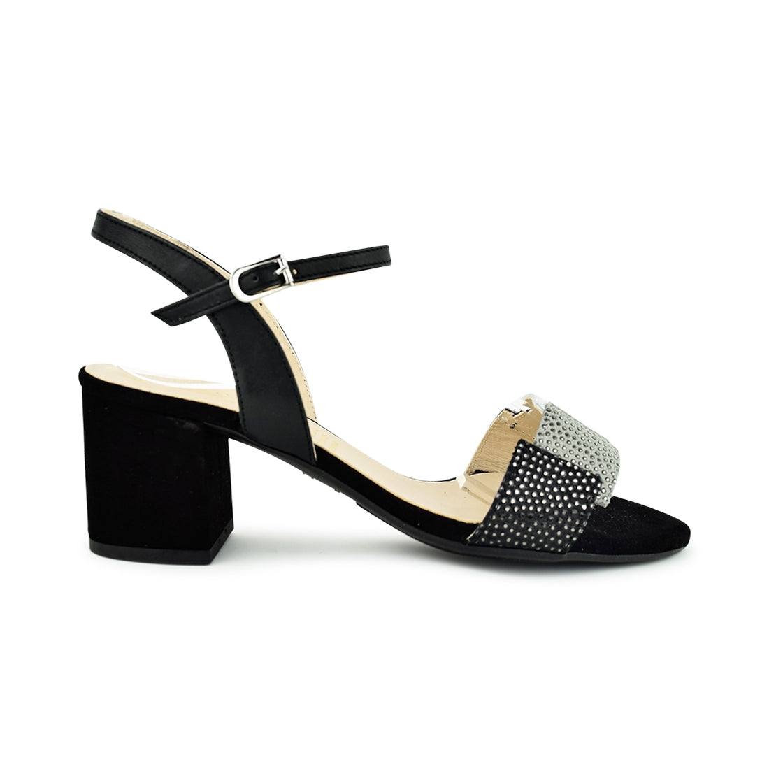 CALLIE - Quait Sandal Black Multi Suede