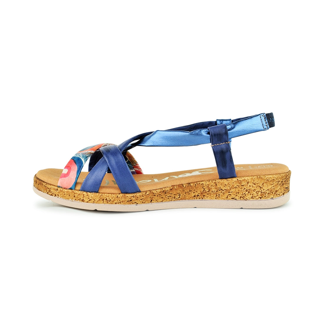 CANDI - Oh My Sandals Sandal Navy Multi