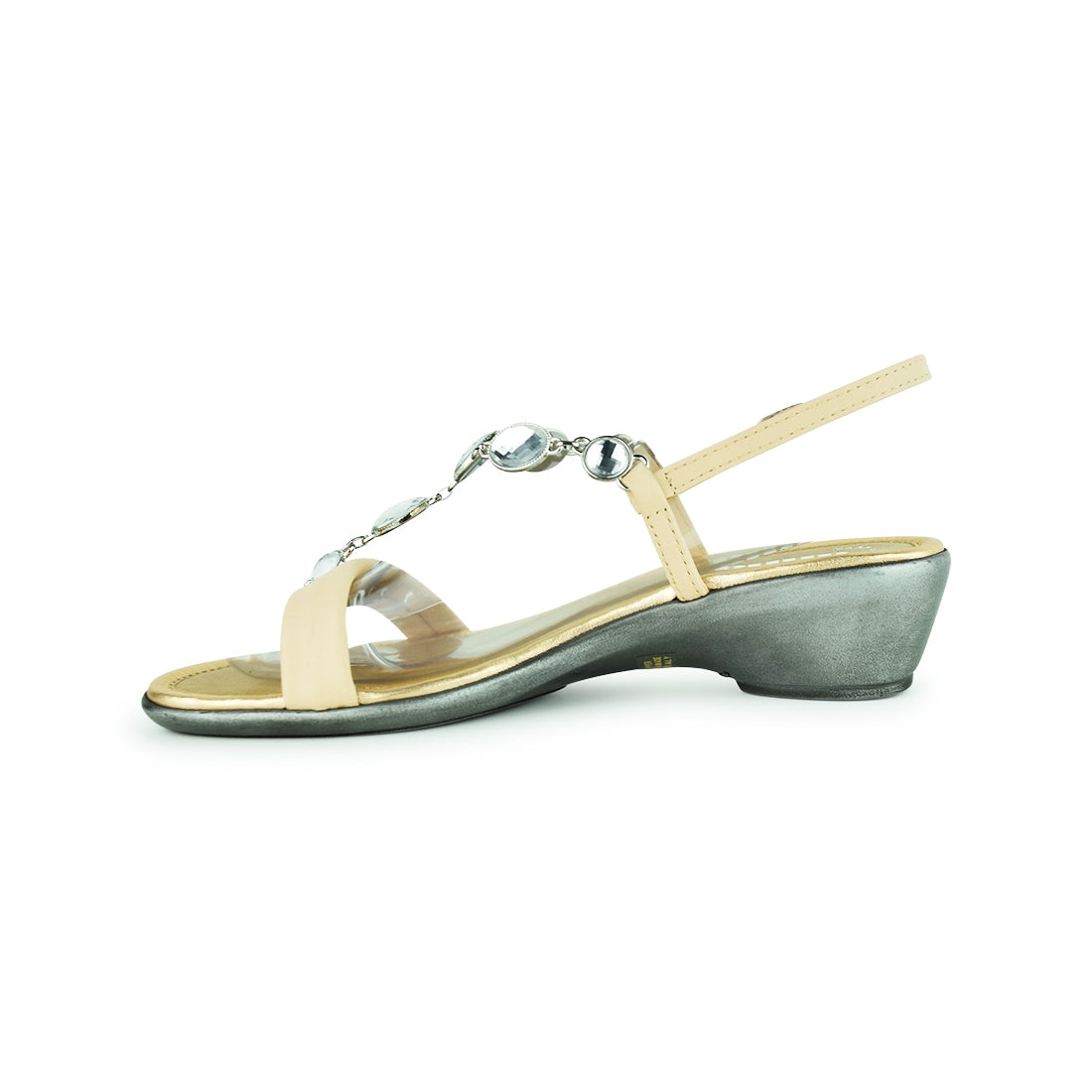 CLEAR - Anna Sandal Blush