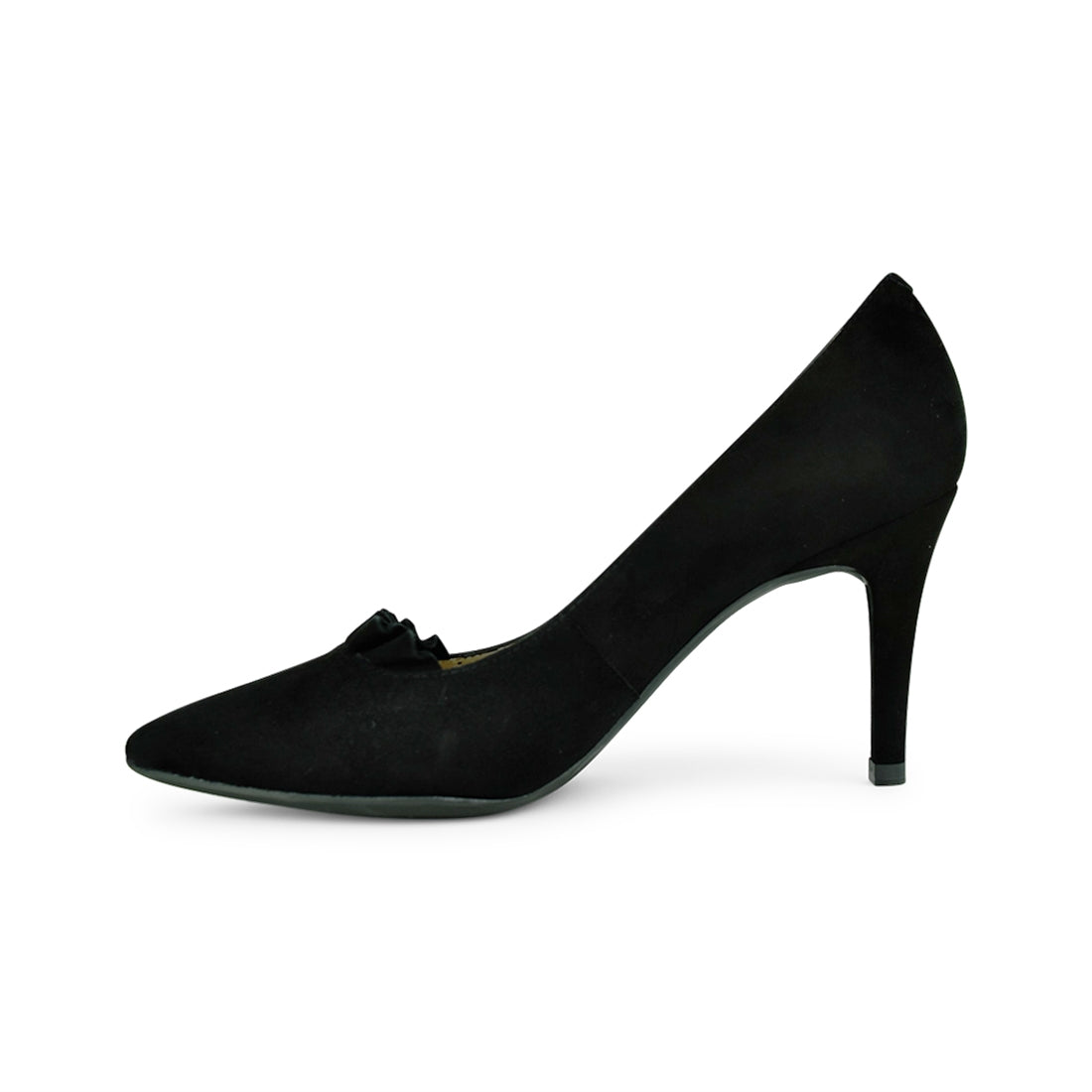 DALI - Unisa Court Shoe Black Suede