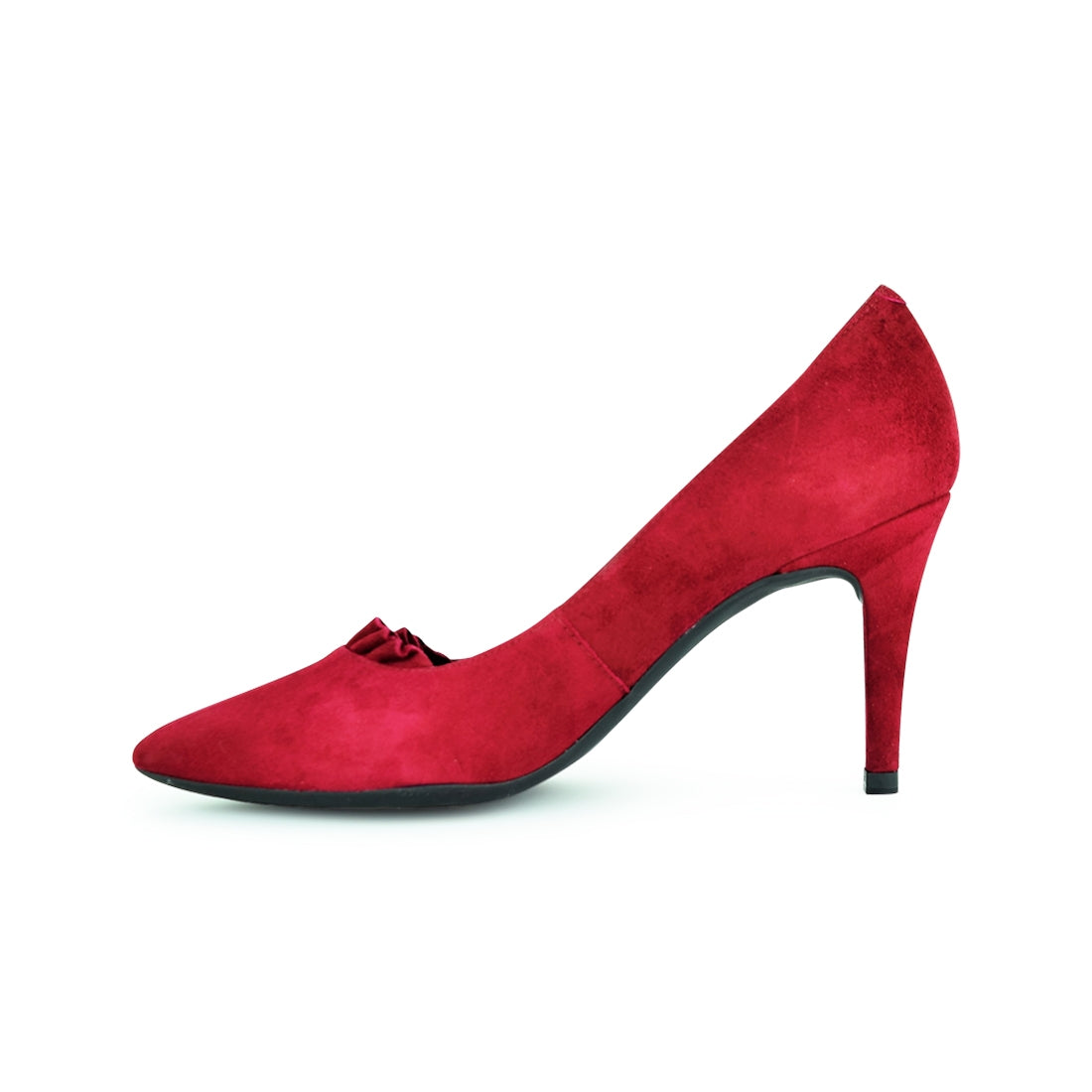DALI - Unisa Court Shoe Red Suede