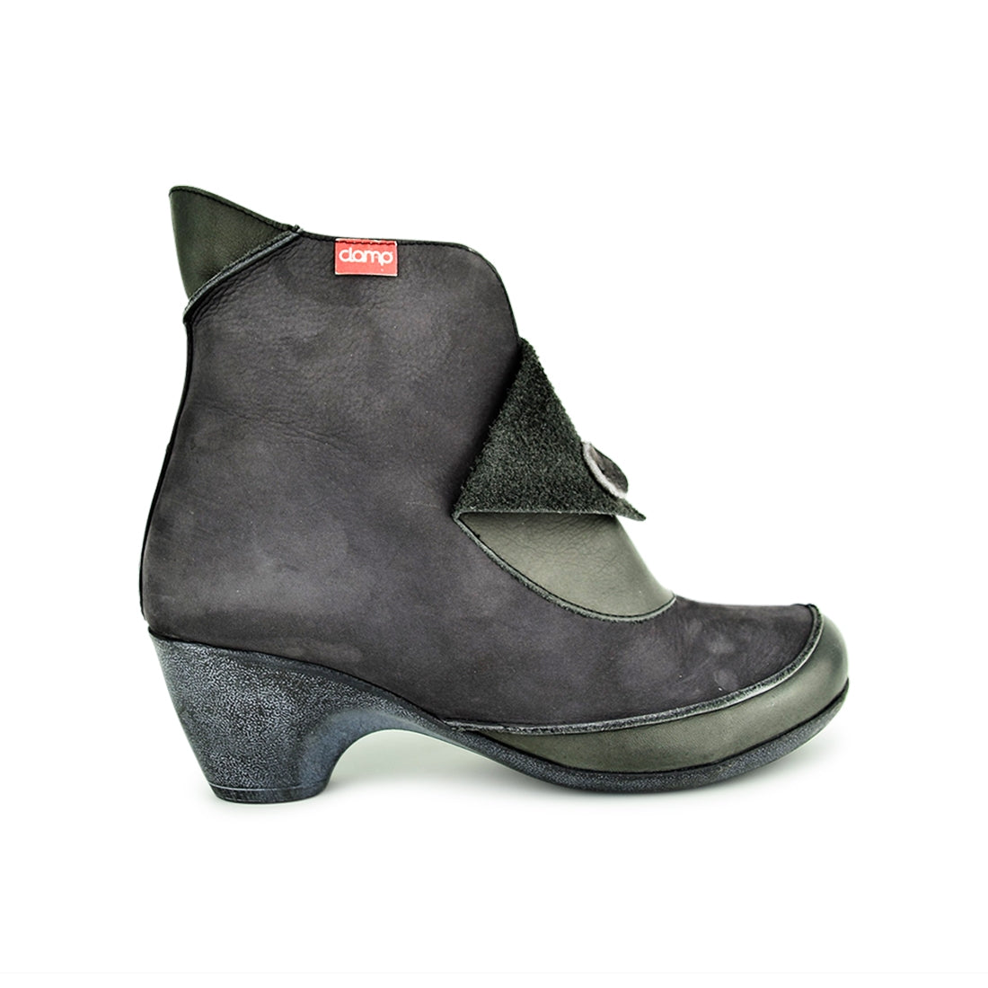 DANA2 - Clamp Ankle Boots Grey Suede