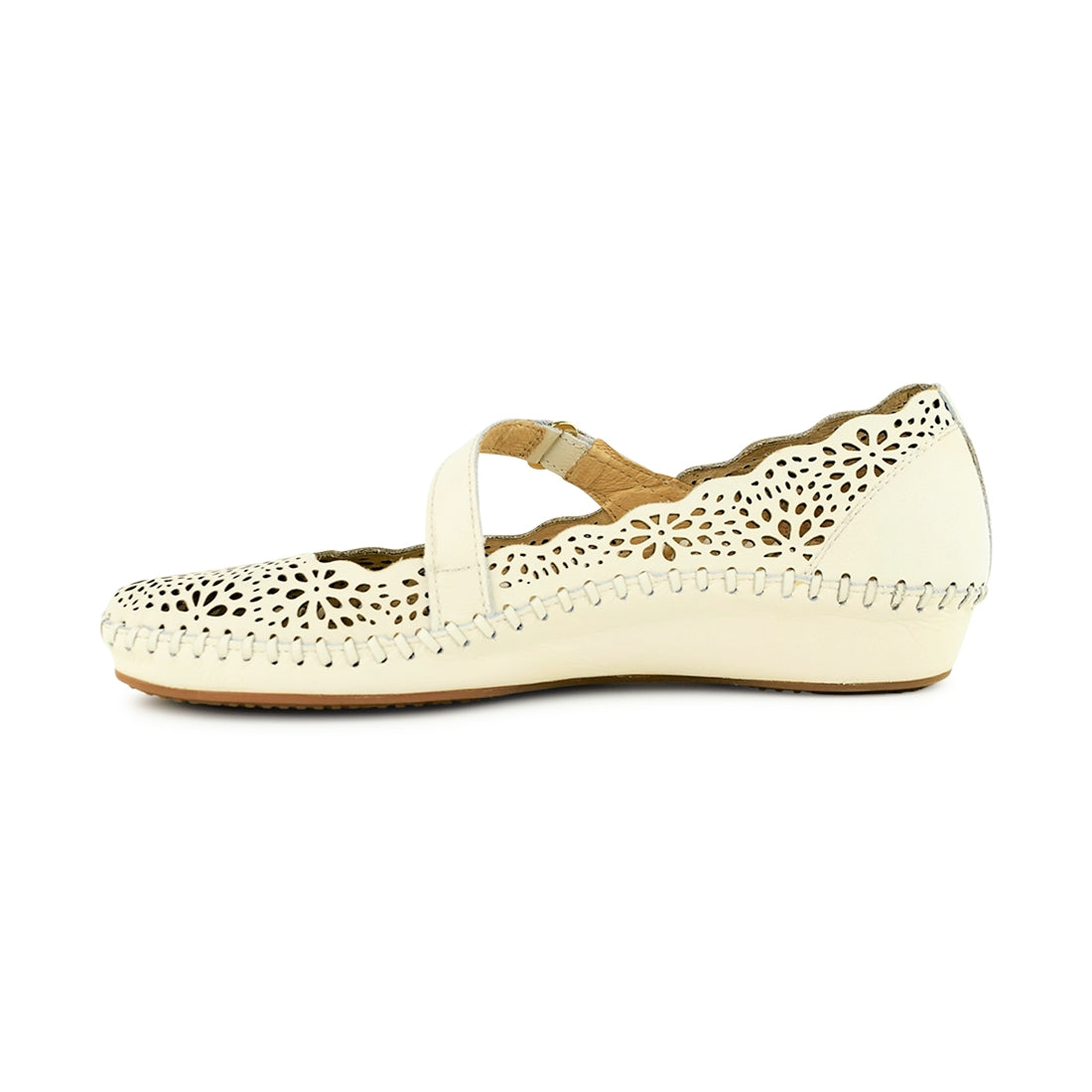 DOMINICA - Pikolinos Closed Shoe White