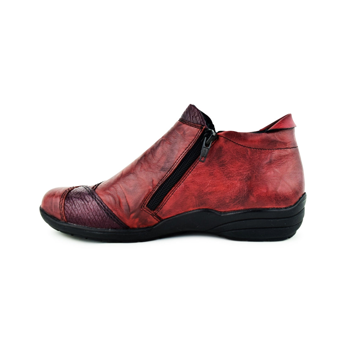 ELMA - Remonte Ankle Boots Red