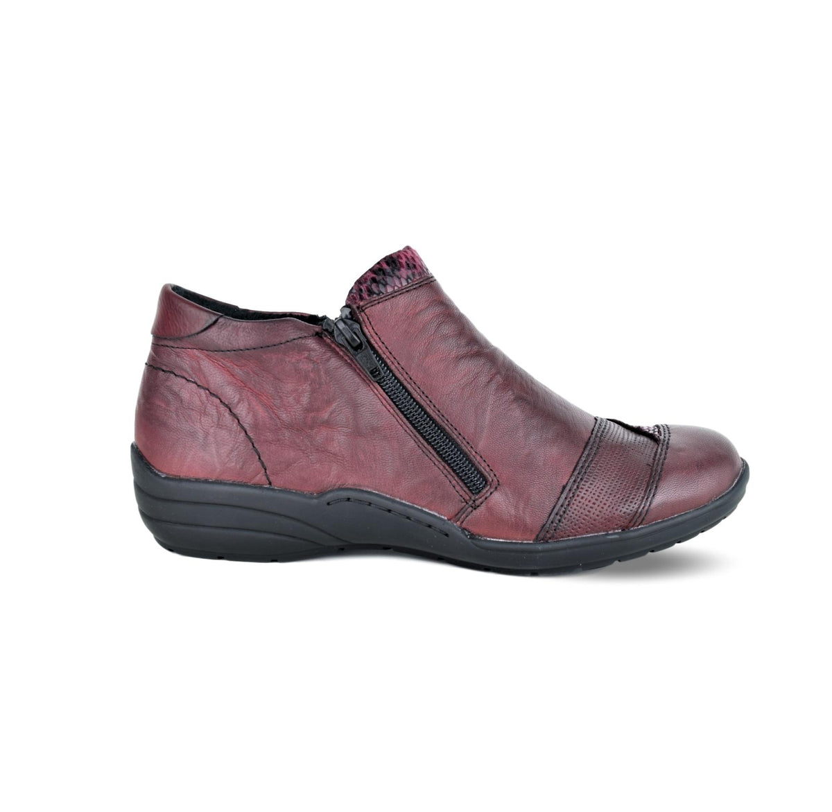 ELMA2 - Remonte Ankle Boots Burgandy