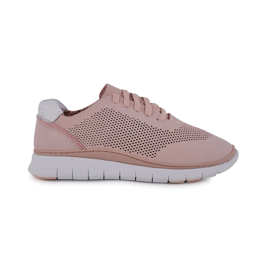 JOEY - Vionic Lace Up Dusty Pink