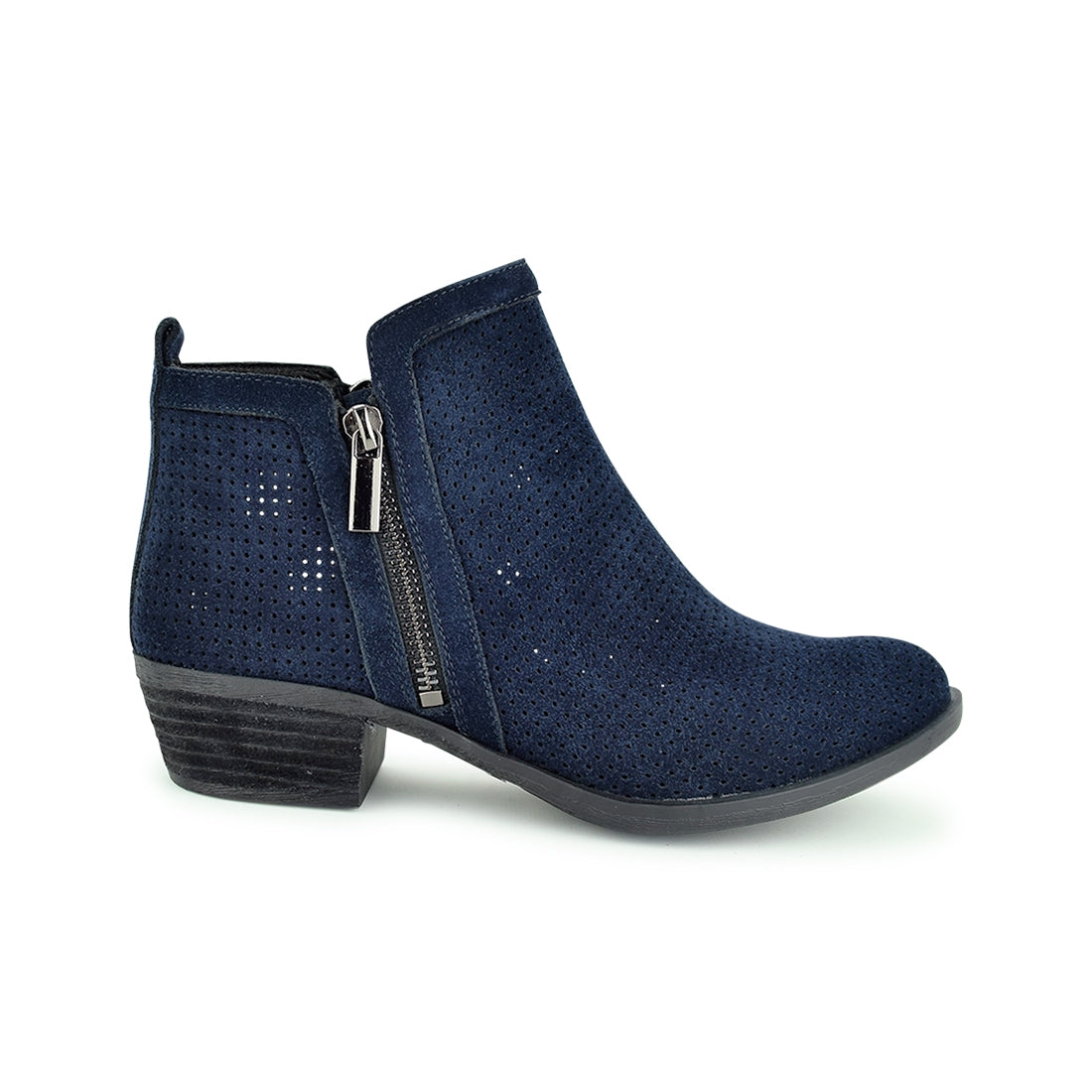 GENIOUS - Emma Kate Navy Suede