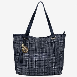 KIERAD - Willow & Zac Shoulder Bag Black Plaid