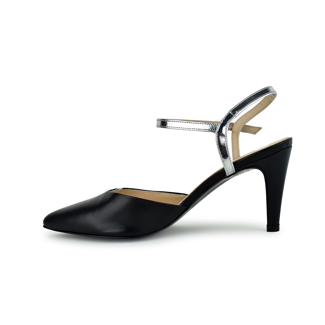 KIKKA - Peter Kaiser Closed Toe Black/Silver