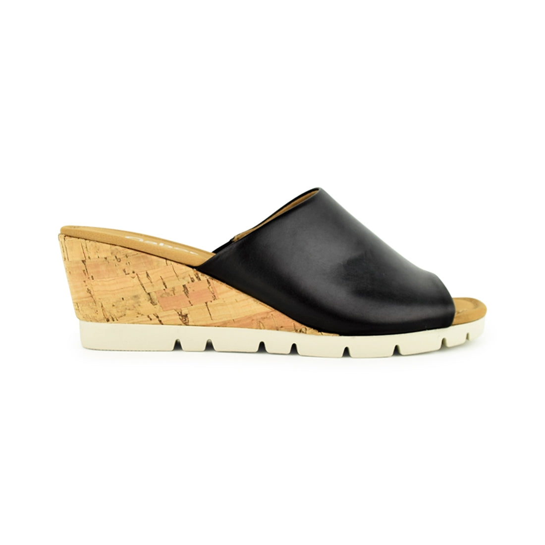 KOR - Gabor Wedge Slide Black